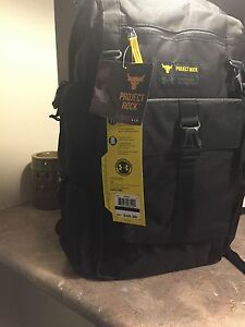 New Under Armour Project Rock Regiment Back Pack Backpack