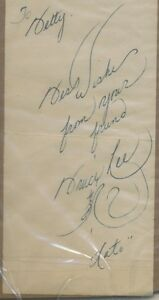 Bruce Lee Original Autograph and