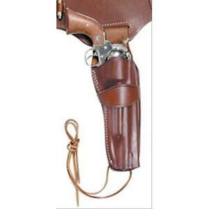 Right Hand Laramie Brown Leather Holster