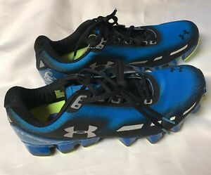 Under Armour UA Scorpio Men's SZ 11.5 Blue Running Shoes
