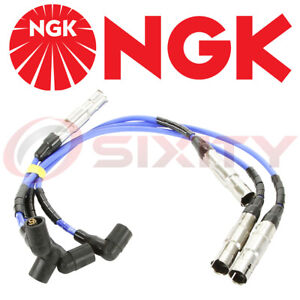 NGK New Spark Plug Wire Set VWC035 # 57041 fits 99 2000 01 VW Jetta 2.0L L4