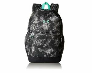 Under Armour Girls' Favorite Backpack Stealth GrayGreen Free Three Day Shipping