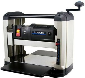 Delta 15 Amp 13 in. Portable Thickness Planer Woodworking Bench Power Tool