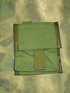US MADE OD GREEN ~ MOLLE ~ 20-25RD BOX SHOT SHELL POUCH ~ USA!
