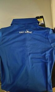 Nike Dri-Fit Grey Goose Collection branded Golf sportswear Womens shirt size M