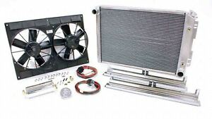 Be-Cool Radiator and Fan Direct-Fit GM F-Body 1967-69 Auto PN 82168