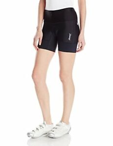 Zoot Women s Running Tights W Performance Tri Shorts 6 Inch Black Black Static S
