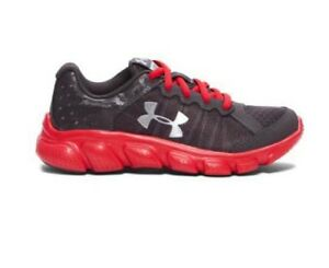 NEW Youth Boys Under Armour Shoes UA BGS MICRO G ASSERT 6 1266318-019 Athletic