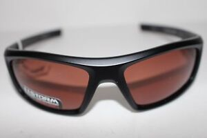 Under Armour Men's Sunglass Power Storm Satin Black FrameBrown Polarized Lenses
