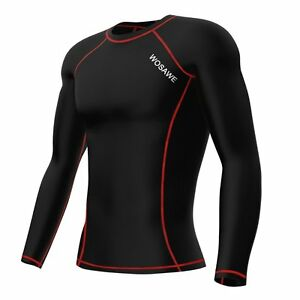 Unisex Long Sleeve Jersey Breathable Gym Running Cycling Sports Shirt.