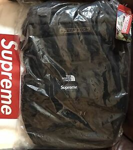 Supreme X the north face steep tech backpack black new 100% authentic TNF Bogo