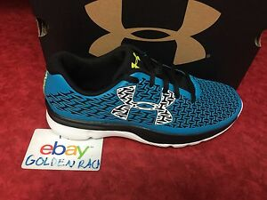 Under Armour BGS Clutchfit RebelSpeed Boys Running Shoes 1281104-987 Size 4Y NIB