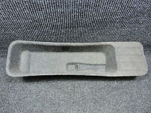 2009 2014 F150 GRAY OEM CREW CAB ONLY UNDER REAR SEAT JACK TOOLS COVER TRAY TRIM $45.00