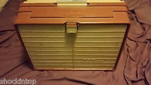 Vintage Plano 777 Tackle Box Loaded With Fishing Lures