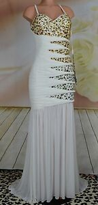 NWT Jeweled Stone-spangled banded Gown by Terani Long Prom~Event~Cruise~Gala 12