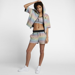NIKELAB ESSENTIALS AURORA REVEAL WOMEN'S SHORTS 914234-100 WOMEN'S 2XS-L NIKE
