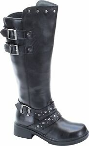 NEW HARLEY DAVIDSON WOMENS BOOTS D83734 HOPE $64.99