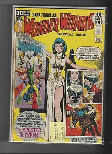 Wonder Woman 197 Special I-Ching Dr. Cyber VF+
