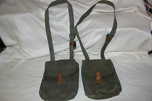 10 Yugoslavian Military 7.62x39 4 Cell Magazine Pouch for 30 Round Mag N O PAP