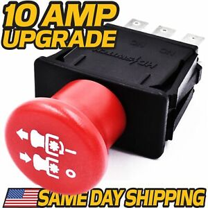 Clutch PTO Switch replaces Dixie Chopper  500016 - 10 AMP UPGRADE -  FAST SHIP