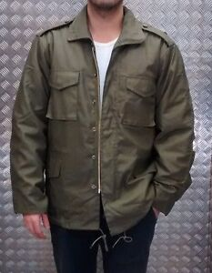 US Military Style M65 Lined Combat Jacket Green MODScooter - All Sizes NEW