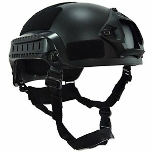 Hunting OneTigris Airsoft Paintball MICH 2001 Action Version Tactical Helmet NVG