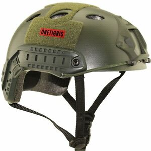 OneTigris Military Helmet Tactical Airsoft Paintball Fast Helmet OD Green