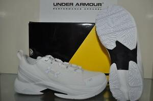 Under Armour Boys (GS) Curry 2 Low Basketball Shoes 1275082 100 White NIB