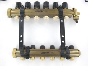 Uponor TruFLOW Jr. Manifold Assembly B&I 6-loop A2660601
