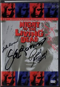 Night of the Living Dead Anniversary Limited Edition DVD set SIGNED BY FOUR PSA