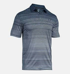 NEW Under Armour CoolSwitch Trajectory Polo Academy XXL Golf Shirt