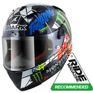 SHARK RACE-R PRO CARBON REDDING GO&FUN Motorbike Lightweight Helmet
