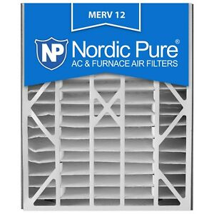20X25x5 4 Air Filter Furnace Bear Merv 12 11 13 8 Trion Nordic Pure AC Pleated