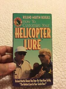 Helicopter Lure VHS Roland Martin Reveals Customize Hottest Lure To Catch Fish