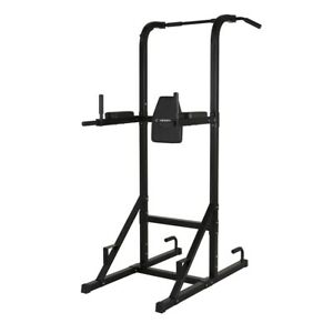 Confidence Olympic Power Tower V2 Knee Raise Dip PullChin up Abs Multi station