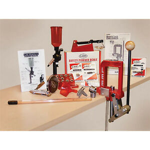 Breech Lock Challenger Kit Lee Precision Single Stage Press Durable Red New