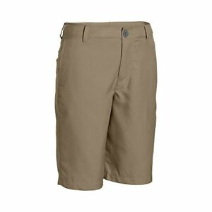 Under Armour Boys' Medal Play Golf Shorts CanvasGraphite Youth X-Small