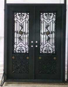 Custom Designed Wrought Iron Entry Doors by Monarch Custom Doors 72