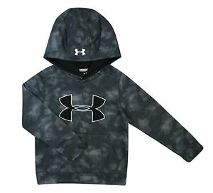 Under Armour Big Boys Big Logo Fleece Hoodie Storm1 Water Resistant Youth Small