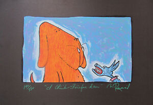 MATT RINARD quot;I THINK THEREFORE I AMquot; Hand Signed Limited Edition Art Lithograph $59.99