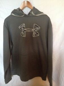 Men's Gray Under Armour Hoodie size XL