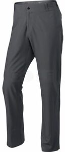 NEW Nike Tiger Woods TW Collection Adaptive Fit Golf Pants 38-32 Gray Dry Fit