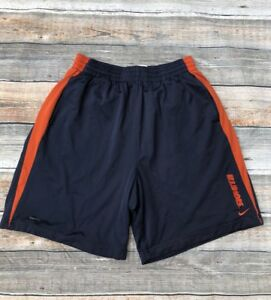 Illinois Nike Shorts L Blue Fit Dry Pockets Sewn On