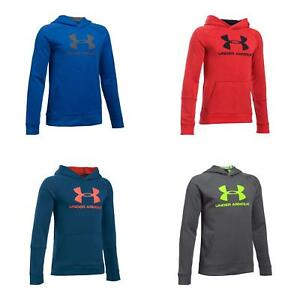 Under Armour Boys UA Youth Sportstyle Hoodie Loose Fit Sweatshirt Long Sleeve