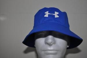Under Armour Golf Bucket Hat Boys Golf Headwear 1273729 907 Blue OSFA NWT