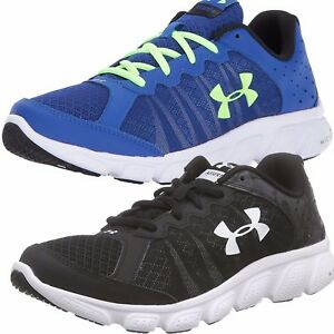 NEW Under Armour Boys Athletic Grade School Micro G Assert 6 Running Shoes