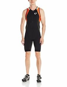 Pearl Izumi Elite Men's Elite In-R-Cool Tri Suit Running Fitness BlackMandarin
