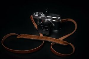 Exotic alligator leather camera strap.  Fits Leica Fuji Film Sony and more.