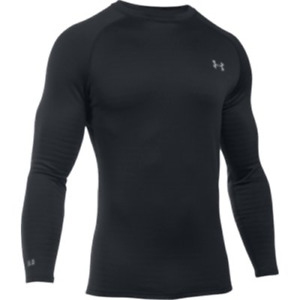 New Under Armour ColdGear Base 4.0 Fitted Crew Neck LS Shirt Men's XL 1281082