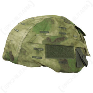 Tactical US Helmet Cover - Mil-Tacs FG - Army Military Camouflage Airsoft New